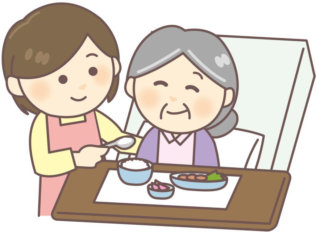 介護の基本|高齢者に適した食事・食事中の姿勢とは