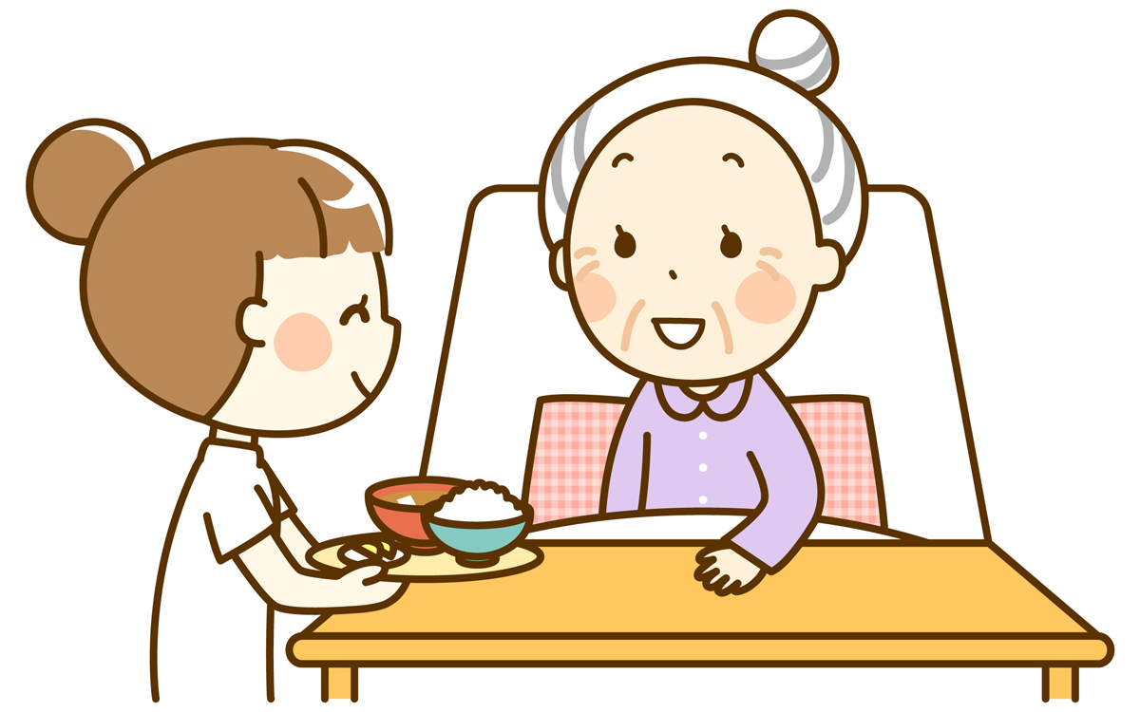 看護の現場における食事介助のマニュアル・事例