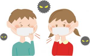インフルエンザと普通の風邪との違い