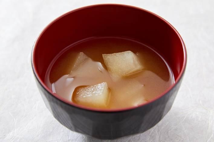 夕顔の味噌汁(山梨県)