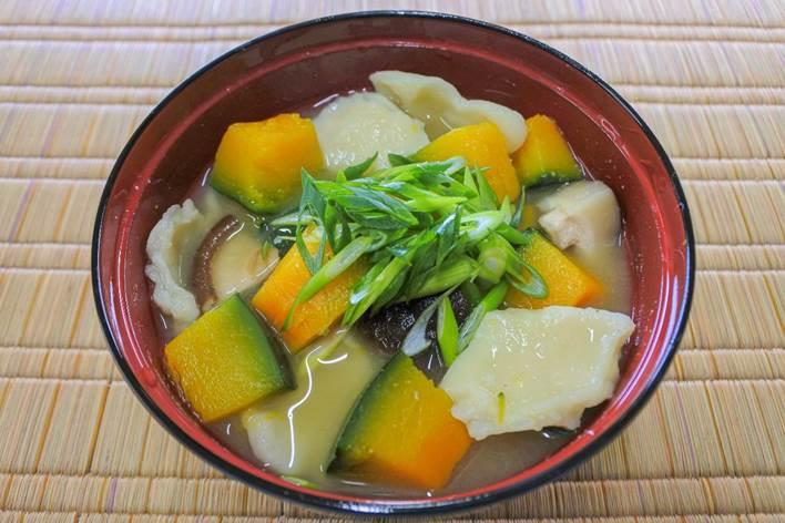 かぼちゃの団子汁(福岡県)